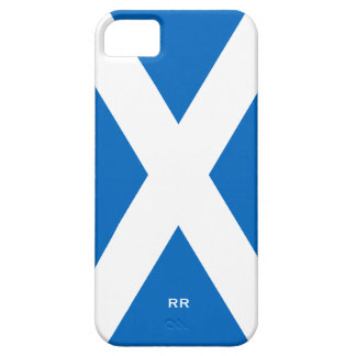 Flag of Scotland Saltire White On Blue St Andrews Case For The iPhone 5