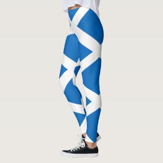 Flag of Scotland - Scottish Flag Leggings