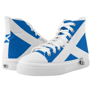 Flag of Scotland Shoes Printed Shoes