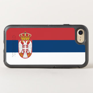 Flag of Serbia OtterBox iPhone Case