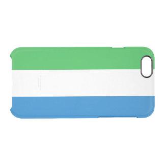 Flag of Sierra Leone Clear iPhone Case