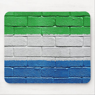 Flag of Sierra Leone Mouse Pad