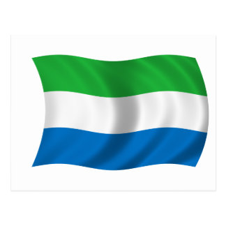 Flag of Sierra Leone Postcard
