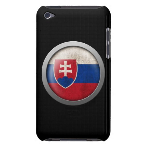 Flag of Slovakia Disc Barely There iPod Case