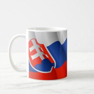 Flag of Slovakia mug