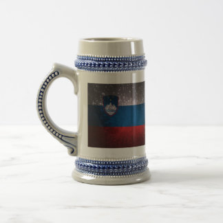 Flag of Slovenia Beer Stein