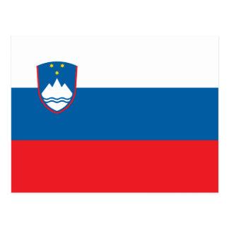 Flag of Slovenia Postcard
