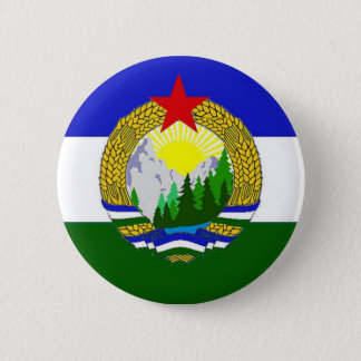 Flag of Socialist Cascadia 6 Cm Round Badge