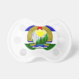 Flag of Socialist Cascadia Baby Pacifiers