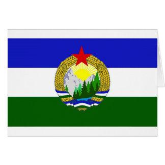 Flag of Socialist Cascadia Card