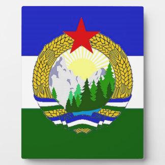 Flag of Socialist Cascadia Display Plaques