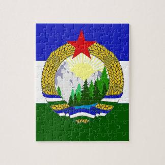 Flag of Socialist Cascadia Jigsaw Puzzle