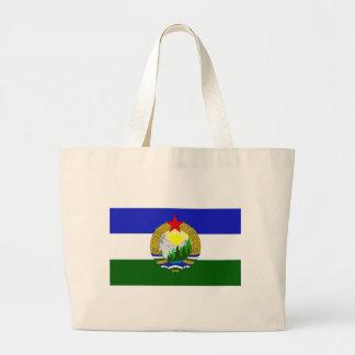 Flag of Socialist Cascadia Large Tote Bag