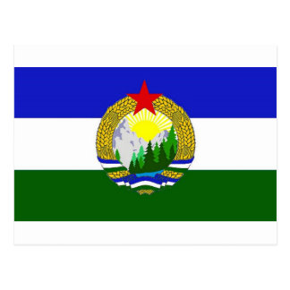 Flag of Socialist Cascadia Postcard