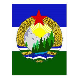 Flag of Socialist Cascadia Postcard
