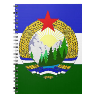Flag of Socialist Cascadia Spiral Notebook