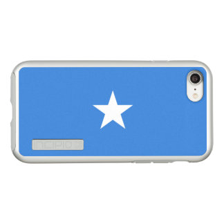 Flag of Somalia Silver iPhone Case