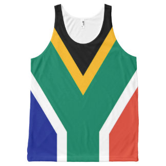 Flag of South Africa Bokke All-Over Print Tank Top