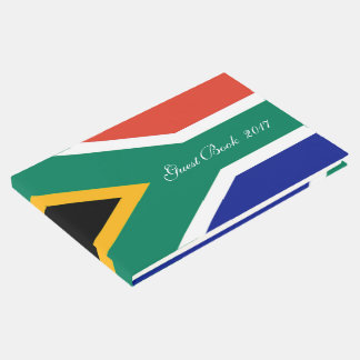 Flag of South Africa Bokke Guest Book