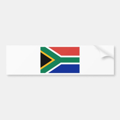Flag of South Africa Bumper Stickers