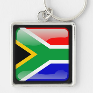 Flag of South Africa Key Chains