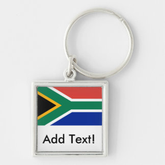 Flag of South Africa Key Chain