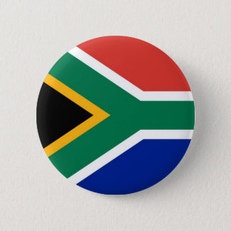 Flag of South Africa on Pin / Button Badge