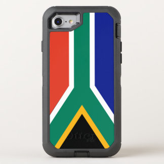 Flag of South Africa OtterBox Defender iPhone 7 Case