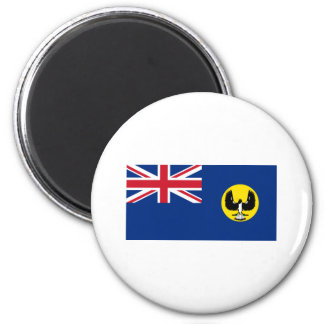 Flag of South Australia 6 Cm Round Magnet