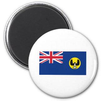 Flag of South Australia 6 Cm Round Magnet
