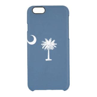 Flag of South Carolina Clear iPhone Case