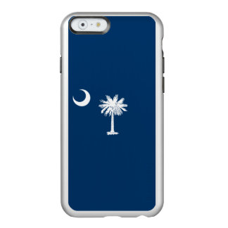Flag of South Carolina Silver iPhone Case
