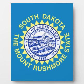 Flag Of South Dakota Plaque