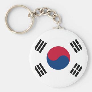 Flag of South Korea - 태극기 - 대한민국의 국기 Key Ring