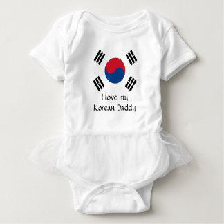 Flag of South Korea Baby Bodysuit