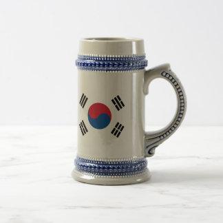 Flag of South Korea Beer Stein
