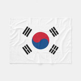 Flag of South Korea Fleece Blanket