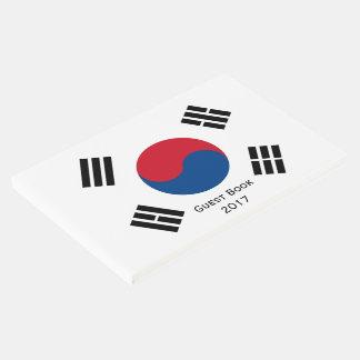 Flag of South Korea Guest Book