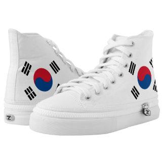 Flag of South Korea High Tops