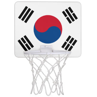 Flag of South Korea Mini Basketball Hoop