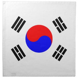 Flag of South Korea Napkins