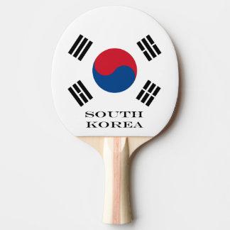 Flag of South Korea Ping Pong Paddle