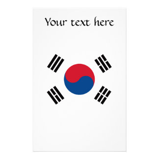 Flag of South Korea Stationery