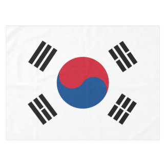 Flag of South Korea Tablecloth