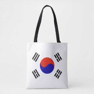 Flag of South Korea Tote Bag