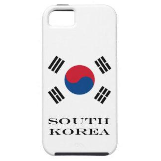 Flag of South Korea Tough iPhone 5 Case