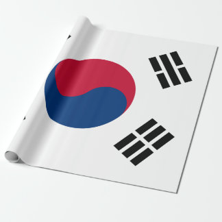 Flag of South Korea Wrapping Paper