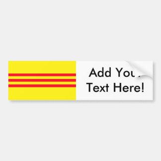 Flag of South Vietnam Bumper Sticker