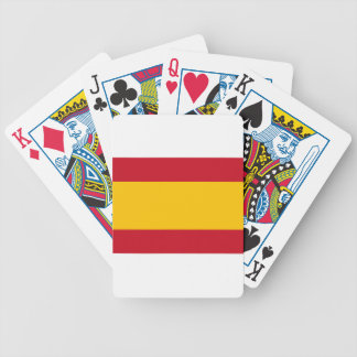 Flag of Spain, Bandera de España, Bandera Española Bicycle Playing Cards