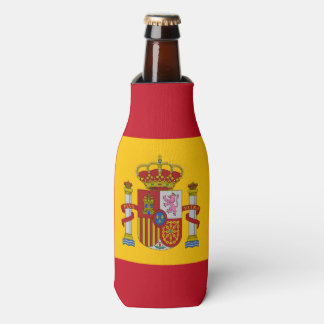 Flag of Spain - Bandera de Espana Bottle Cooler